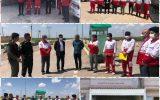 بازدید دکتر روح الله فروزش معاون حقوقی و پارلمانی جمعیت هلال احمر کشور از پایگاه های امداد و نجات استان ایلام