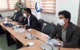 برگزاری جلسه ویدئو کنفرانس باحضور مهندس جانباز، معاونین آبفای کشور درخصوص پیشگیری از ویروس کرونا وحفاظت از سلامت همکاران