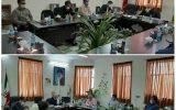  دیدار دکتر بسطامی، نماینده مجلس شورای اسلامی با شهردار و اعضای شورای اسلامی شهر صالحآباد