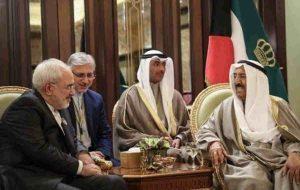 ظریف، درگذشت امیر کویت را تسلیت گفت