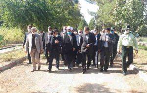 رییس سازمان جنگلها، مراتع و آبخیزداری از نهالستان ایوان بازدید کرد
